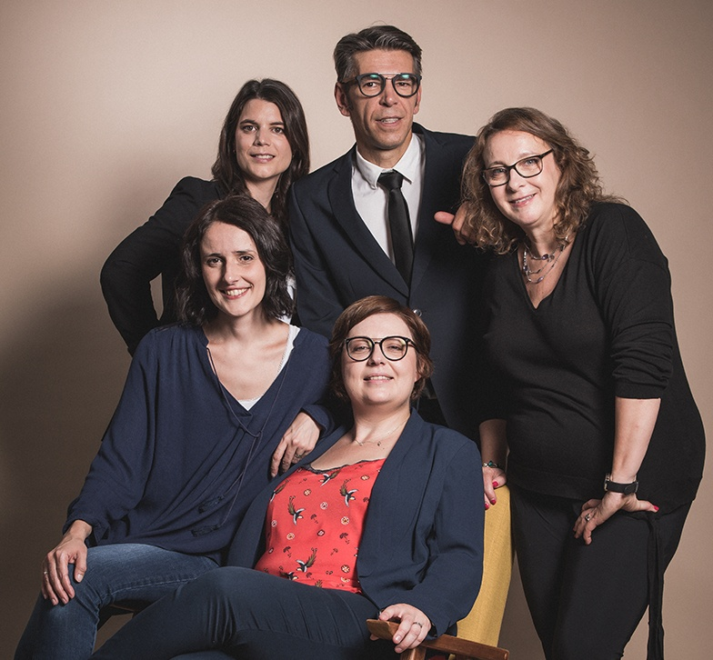 La Team de l'agence UP'CO